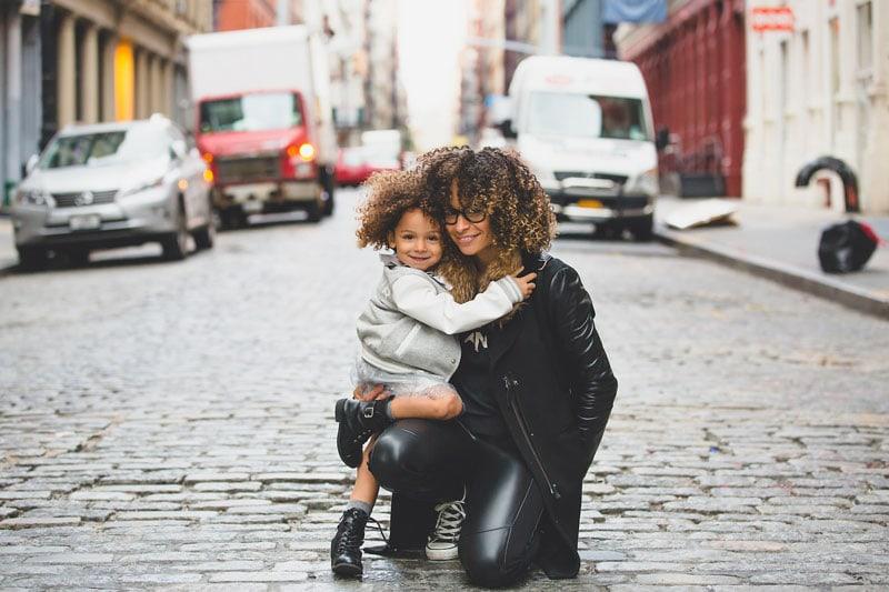 Auch alleinstehende Frauen können Mutter werden..
