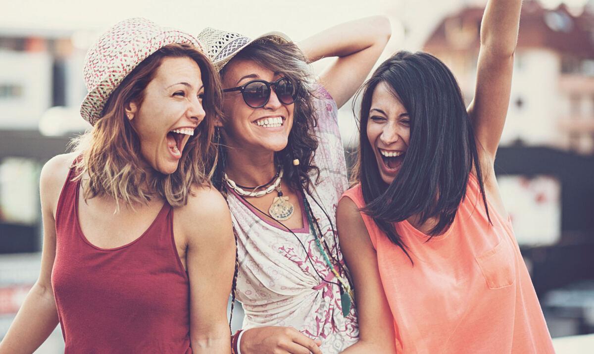 Samstag mit Freundinnen