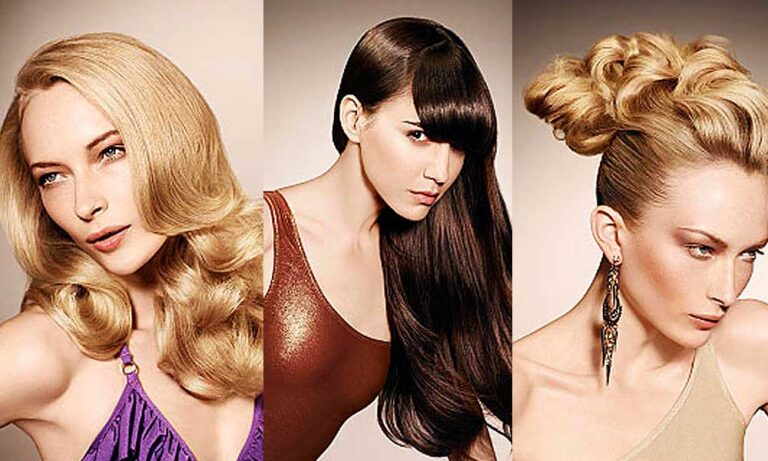 Trendfrisuren für lange Haare