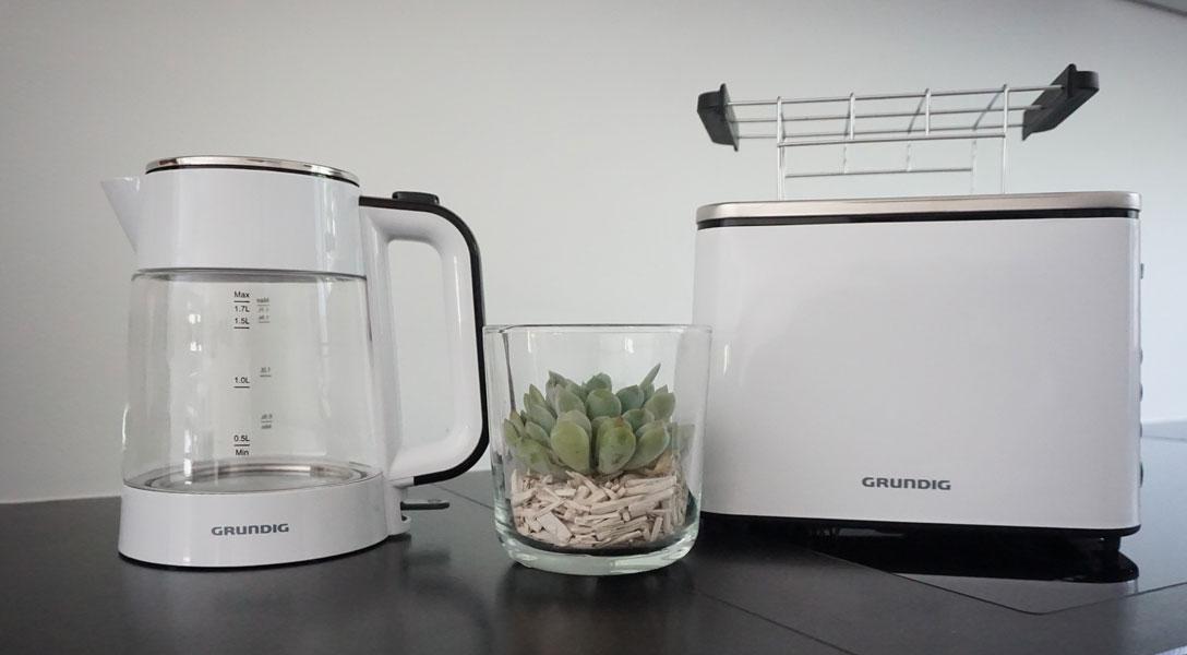 Toaster und Wasserkocher von Grundig im Women30plus-Test