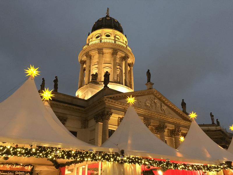 Der Gendarmenmarkt in Berlin