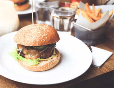 In Fast Food steckt auch meist viel Fett