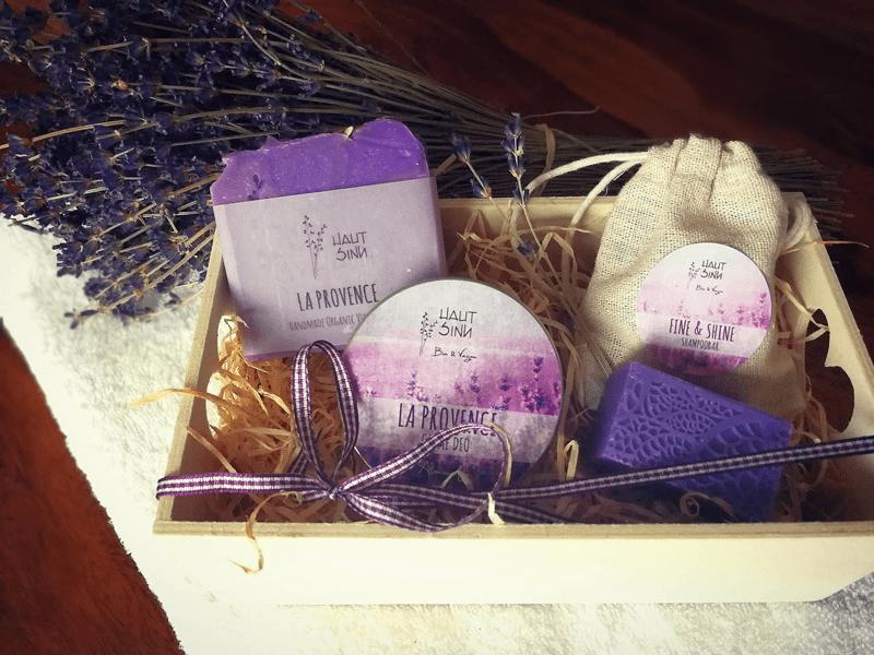 HautSinn-Verwöhnpaket mit Lavendel