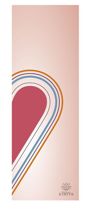 Heart Towel rechts von Creative Kimiyo