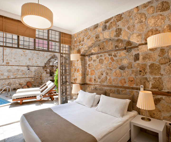 Zimmer im Hotel Alp Pasa
