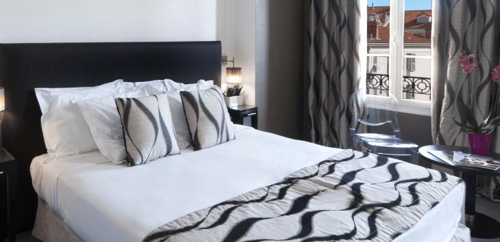 Zimmer im Hotel Ellington