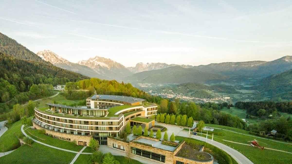 Gigantischer Ausblick ins Berchtesgadener Land