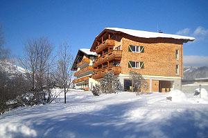 Winterwonderland rund um das Landhotel Hohenfels