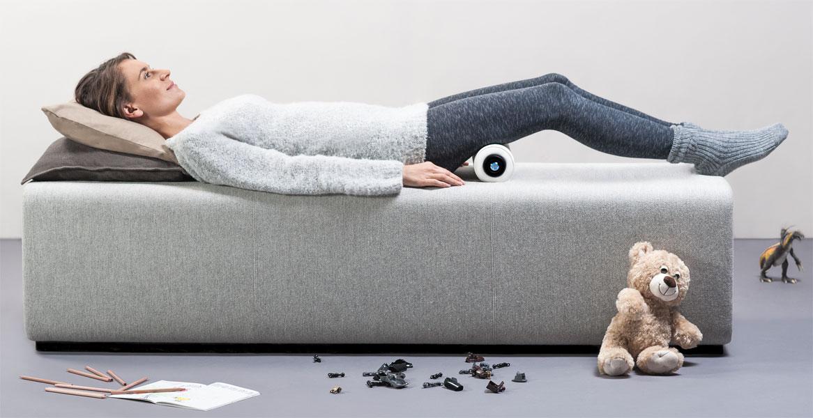 Entspannung mit der inoroll Massagerolle