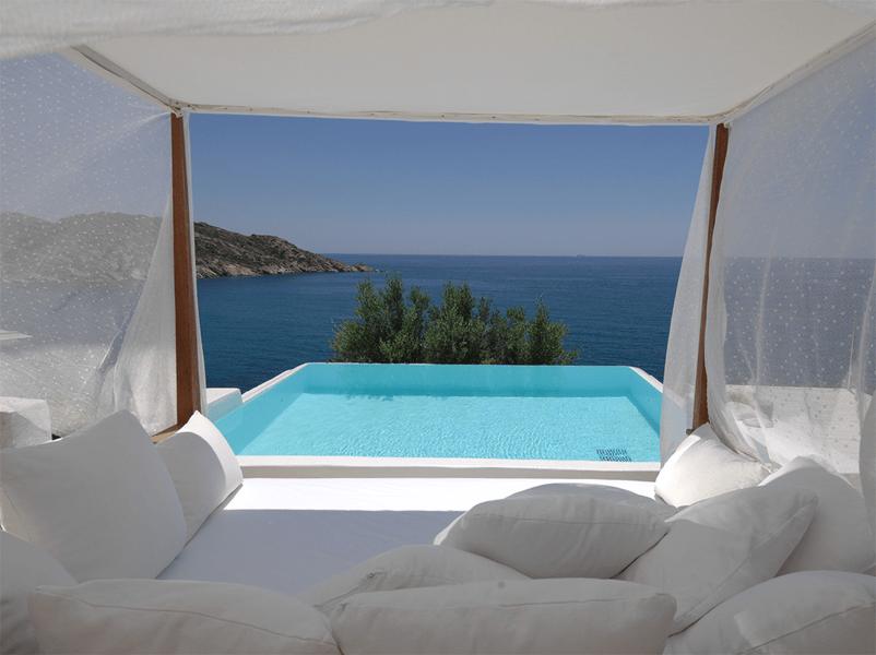Private Pool in der Master Suite