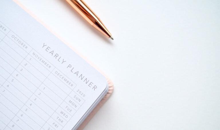 Jahresplanung - diese Fragen solltest du dir stellen