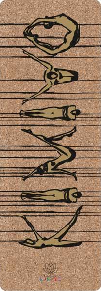 Kork-Yogamatte von Creative Kimiyo