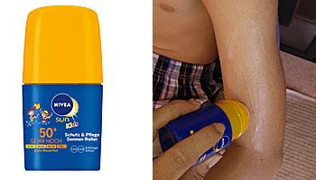 Nivea Sun Schutz & Pflege Sonnen-Roller im Test