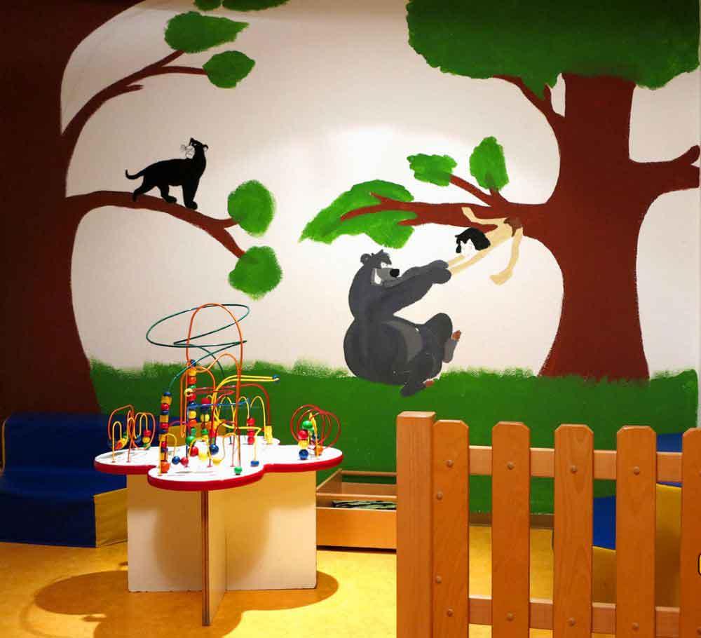 Spielzimmer im Kinderclub