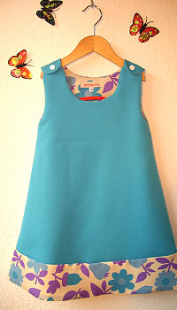 Süsses Hängerkleidchen von mon bisou bei dawanda.com; Bildquelle: DaWanda.com