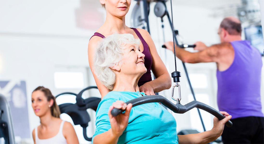 Ist Krafttraining für Senioren sinnvoll?