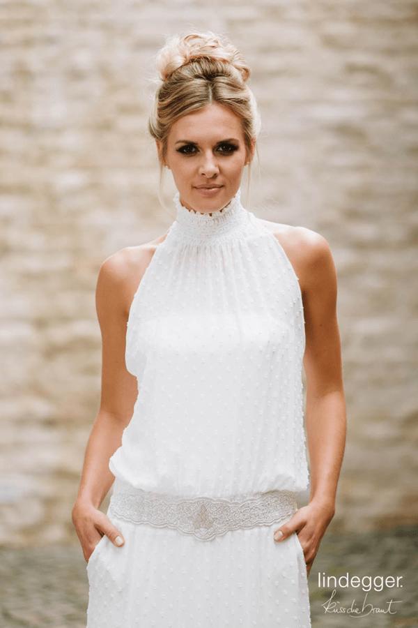 Schlichtes Brautkleid Daphne