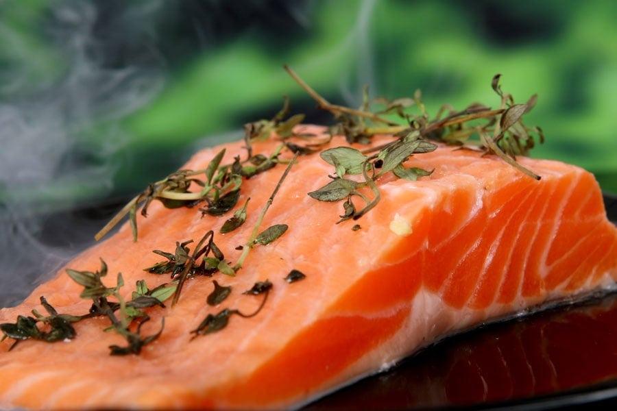 Lachs enthält besonders viele Omega3-Fettsäuren