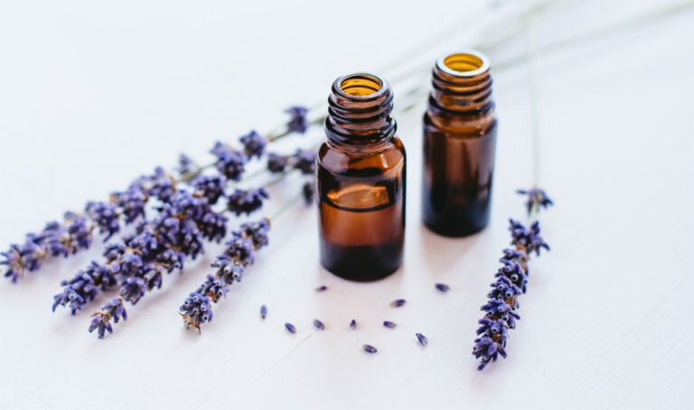 Die Wirkung von Lavendelöl auf die Haut