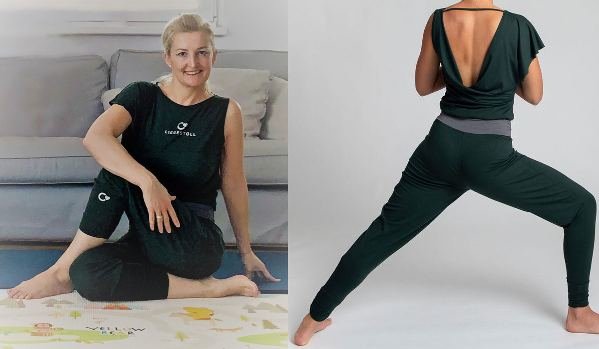 Made in Austria: Yoga-Kleidung von Liebestoll