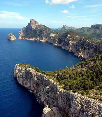 Mirador es Colomer in Mallorca