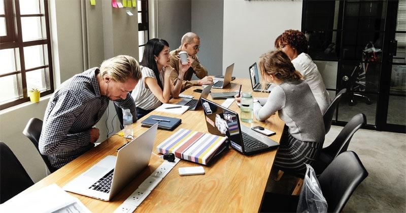 Brainstorming ist fixer Bestandteil einer Mastermind Gruppe.