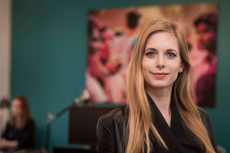 Melanie Hetzer von der Agentur upgreat