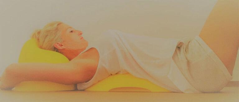 Entspannter Nacken und Brustwirbelsäule mit Yellow-Head