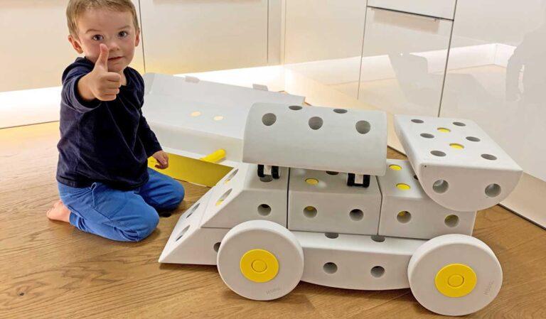Modu: Lebensgroßes Bauspielzeug für aktives und kreatives Spielen