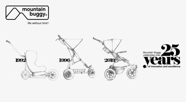 Mountain Buggy: die Pioniere des All-Terrain Kinderwagens feiern 25jähriges