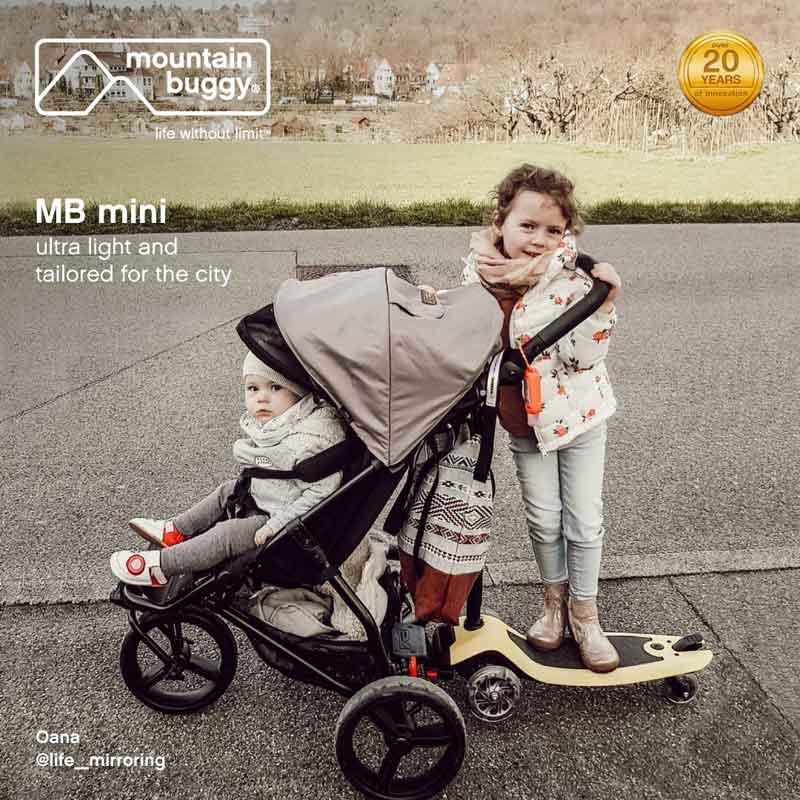 MB Mini im Einsatz © Mountain Buggy