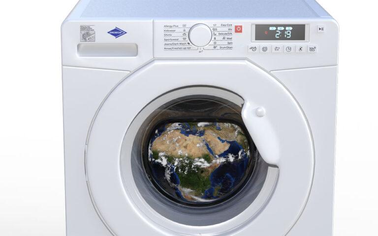 Wie kann ich umweltschonend Wäsche waschen?