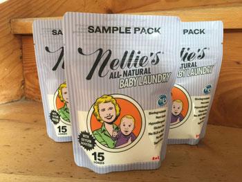 Kinderfreundliches Waschpulver Nellies