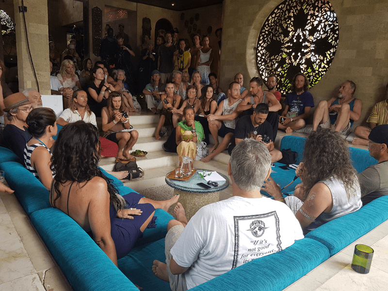 Gut besuchtes New Earth Festival in Bali