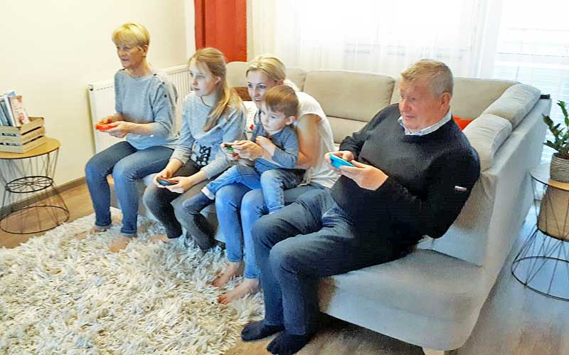 Mit Nintendo Switch Spielspaß für die ganze Familie © Heike Wallner
