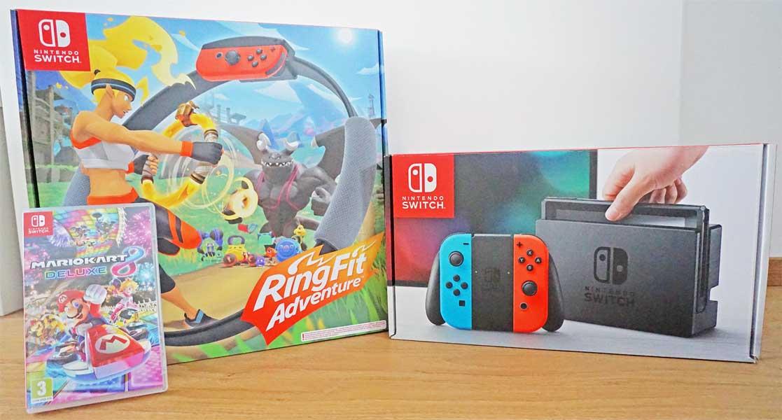 Nintendo Switch und zwei beliebte Spiele im Test