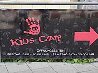 Das Kids Camp in der Outletcity Metzingen; © women30plus/Heike Wallner