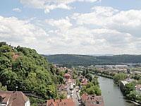 Ausblick von der Stiftskirche in Tübingen; © women30plus/Heike Wallner
