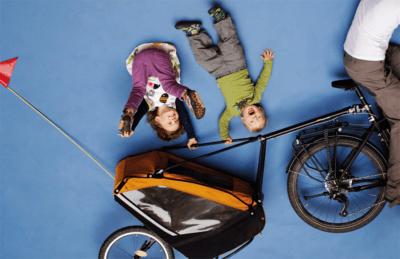 Breite Information über das Thema Kinder-Fahrradanhänger
