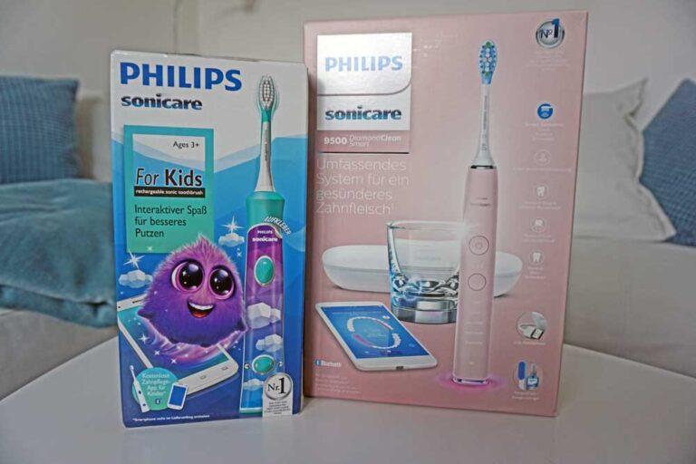 Philips Sonicare Zahnbürsten im Test