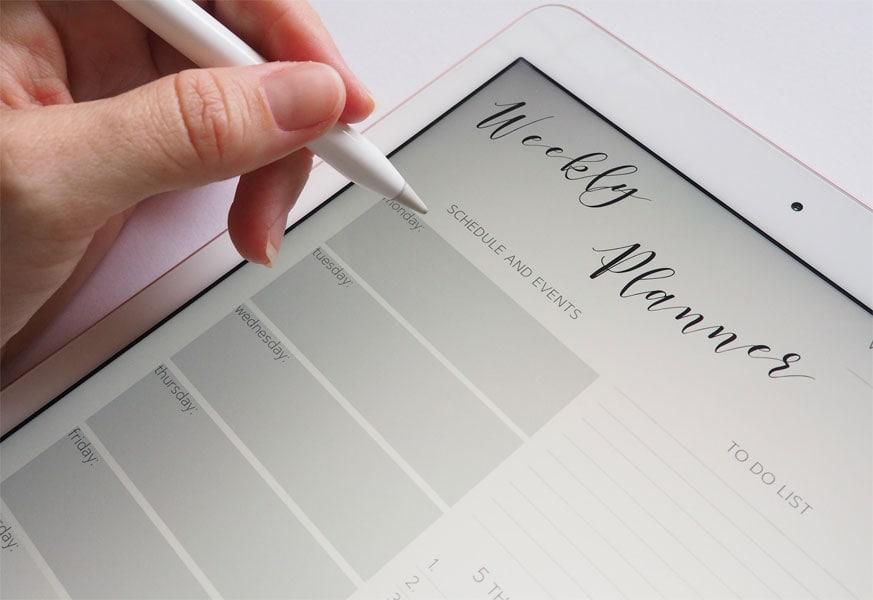 Egal ob online oder offline: Planung deiner Aufgaben und Termine im Business ist wichtig.