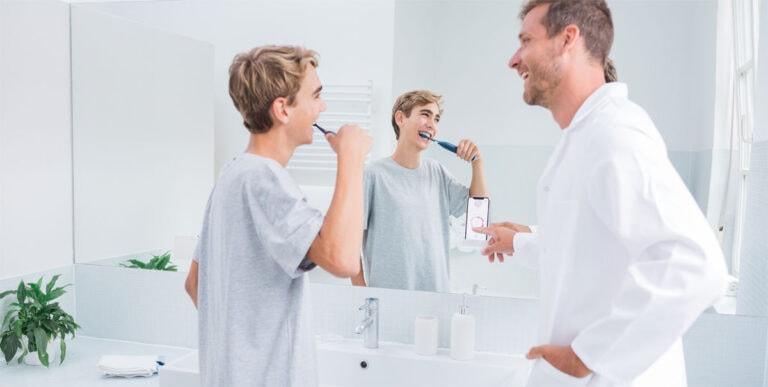 Neue Dimension des Zähneputzens mit der Playbrush Smart One