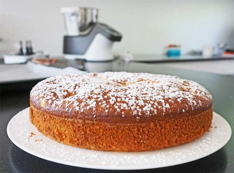 Flaumiger Apfelkuchen mit der Prep & Cook zubereitet © Heike Wallner