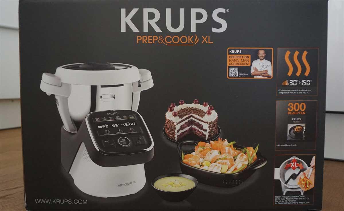 Küchenmaschine Prep & Cook von Krups im Test