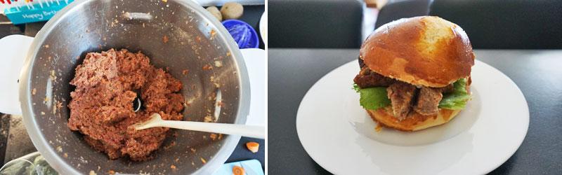 Saftige Burger und fluffige Buns - beides mit Prep&Cook zubereitet © Heike Wallner