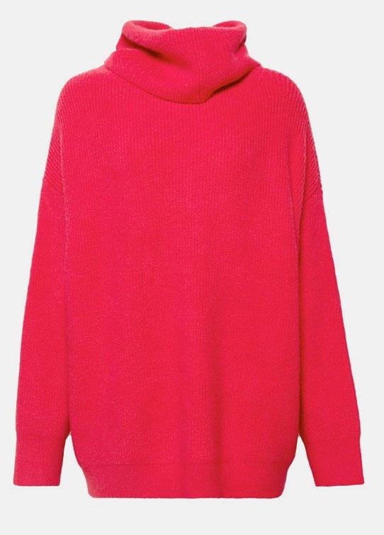 Es wird bunt: Knallfarben wie bei diesem Pullover sind angesagt.