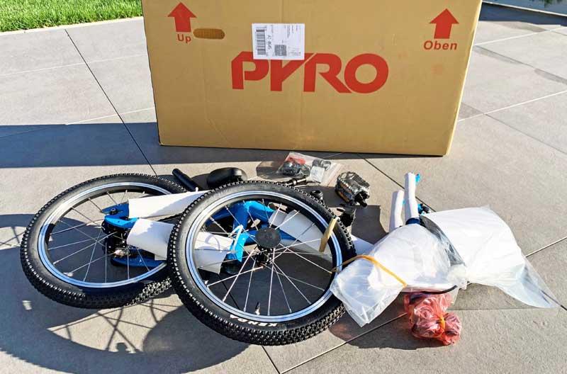 So wird das Pyro sixteen geliefert. © Heike Wallner