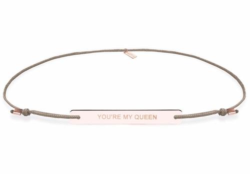 Bracelet mit individueller Gravur