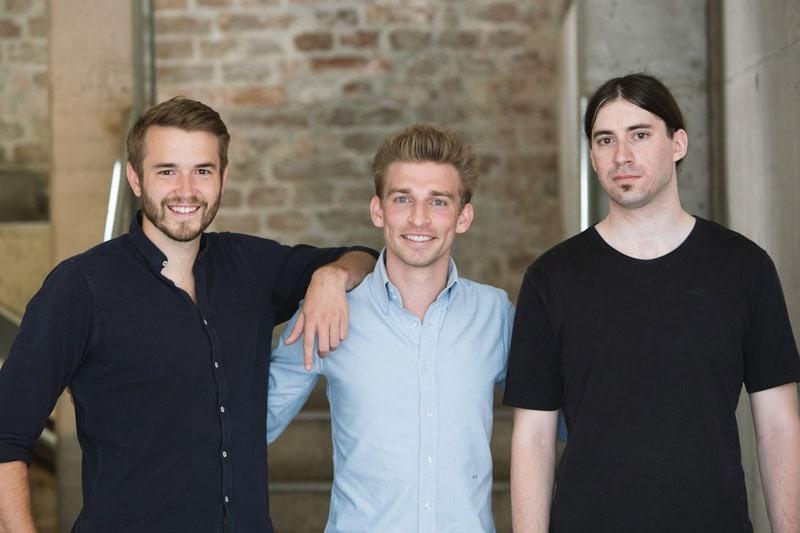 Das refurbed Gründerteam
