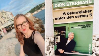 """""""Zuagroaste"""" Susanne über Dirk Stermanns """"6 österreicher unter den ersten 5"""""""